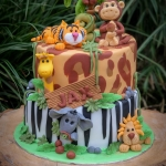 Bij-okidoki kindertaarten bussum naarden  hilversum kortenhoef 's gravenland jungle-taart