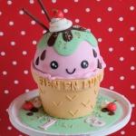 bij-okidoki kindertaarten bussum naarden hilversum bruidstaarten verjaardagstaarten kinderpartijtjes ijsjestaart