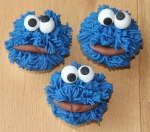 Koekiemonstercupcakes