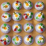 voorjaarscupcakes